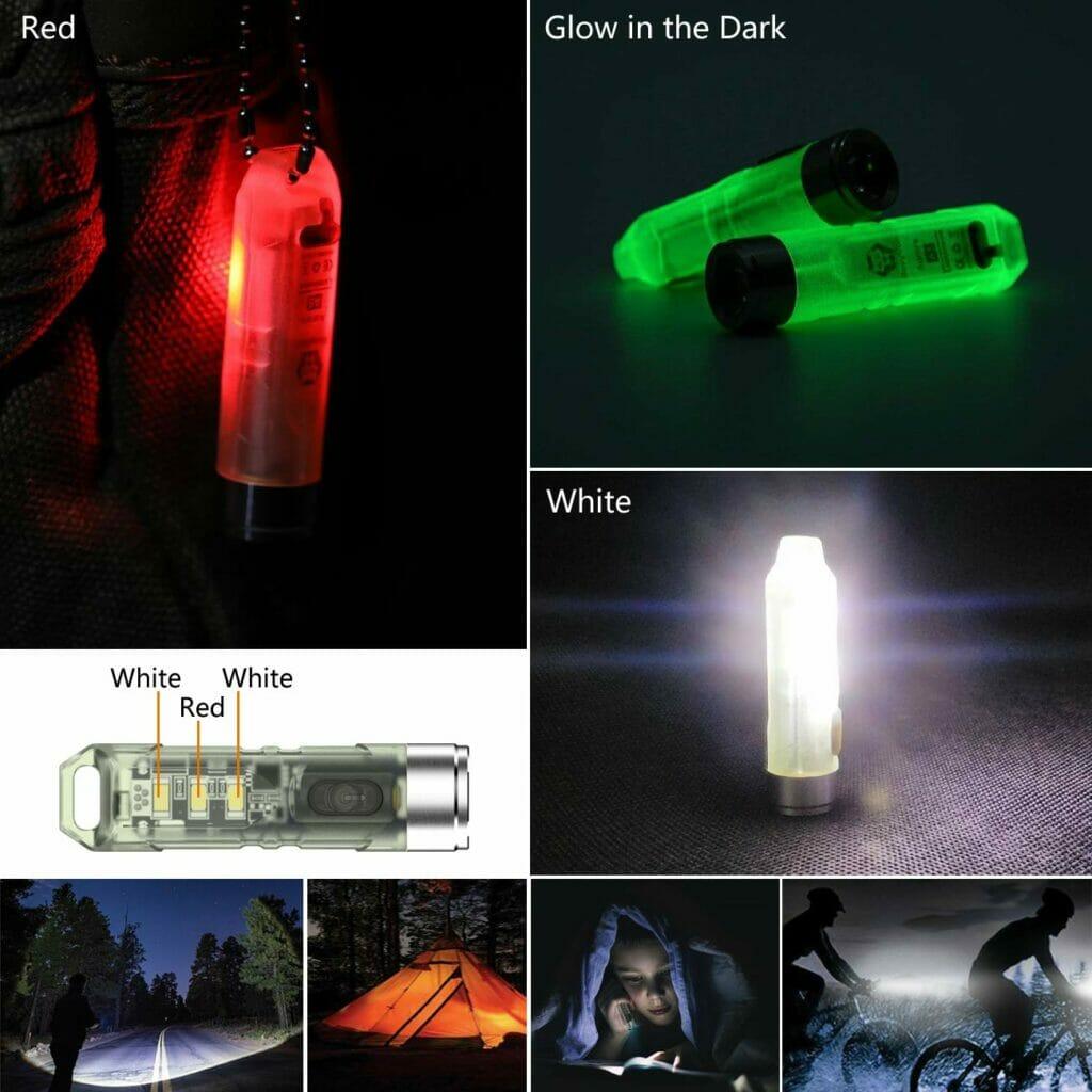 Светящийся фонарик для кемпинга на аккумуляторах