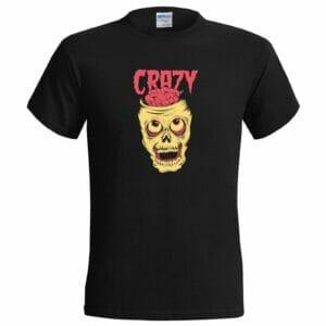 Crazy Skull Brain футболка