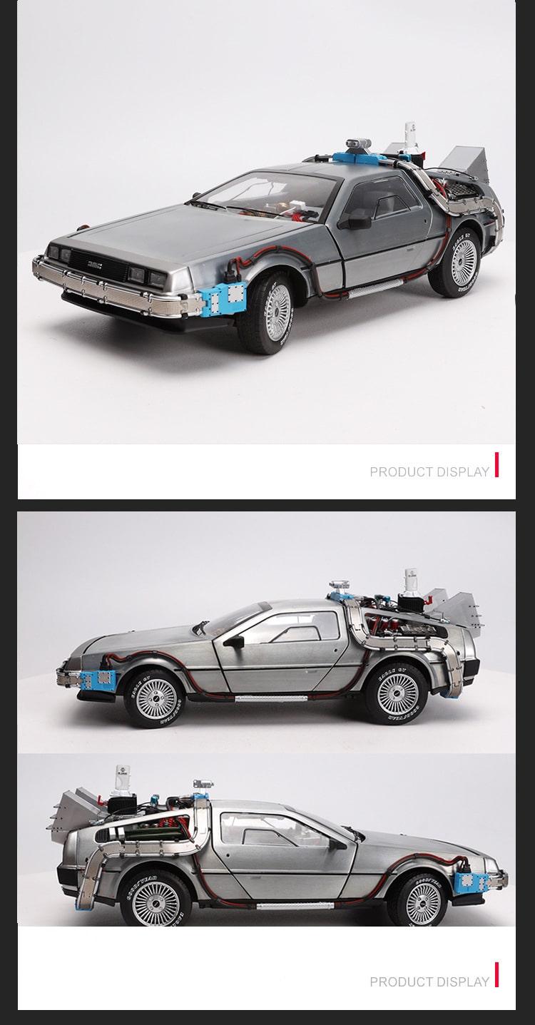 Левитирующая Машина Времени из Назад в будущее 2