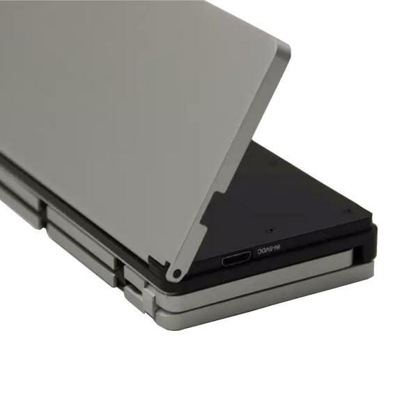 Складная клавиатура для планшета в алюминиевом корпусе