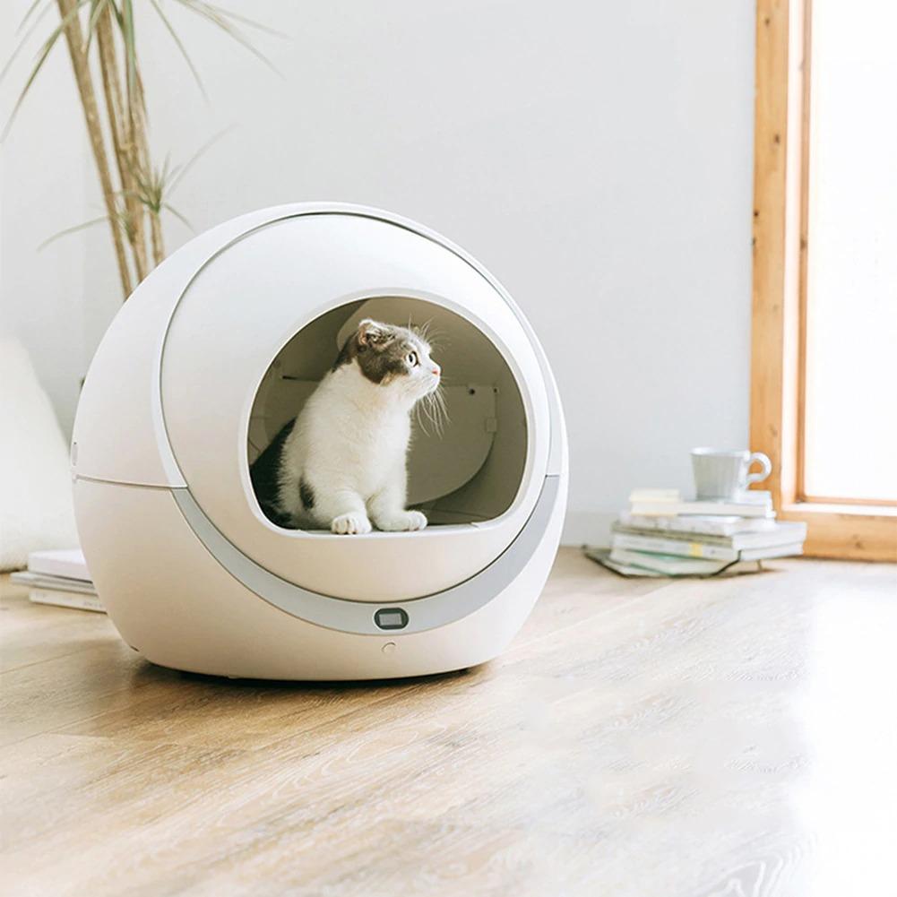самоочищающийся туалет для кошки