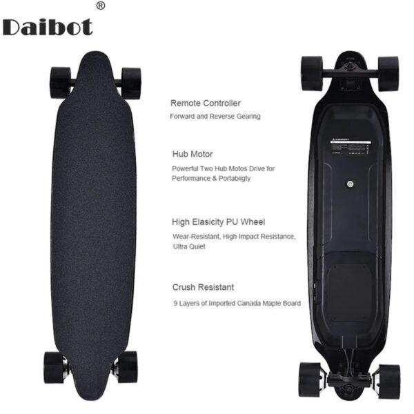 электроскейтборд electric skateboard