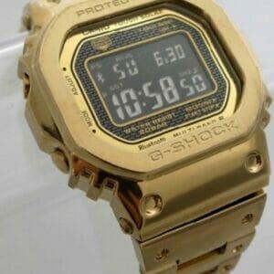 CASIO Мужские Золотые Часы Limited