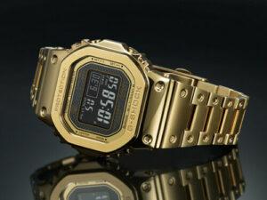 золотые часы casio GMW-B5000GD