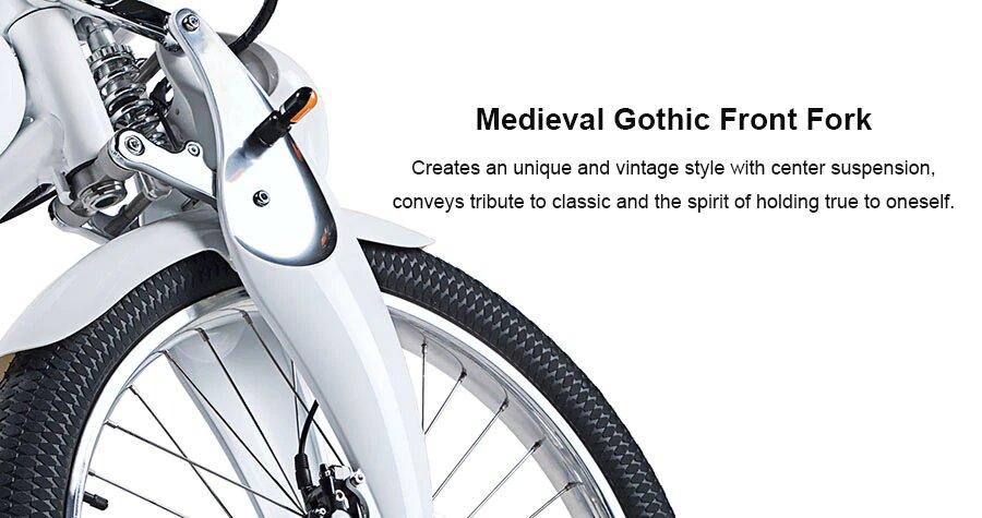 Компактный Электровелосипед для города и путешествий