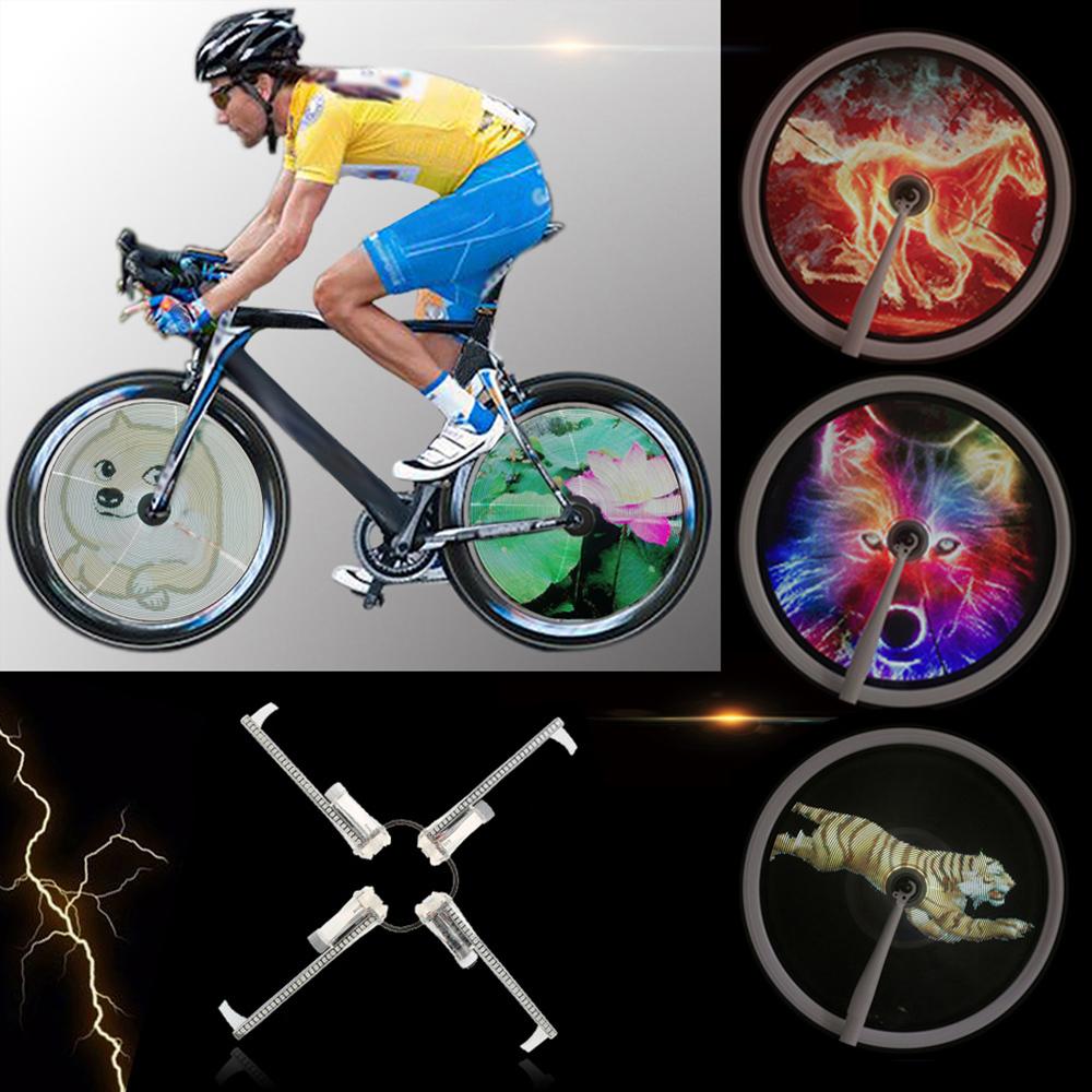 программируемая подсветка для колеса велосипеда