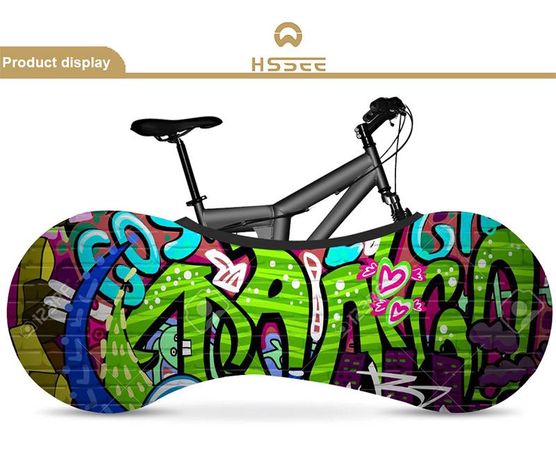 шелковый чехол для велосипеда