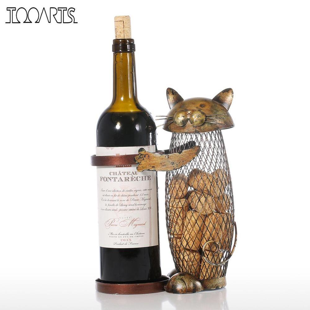 подставка для вина с пробками