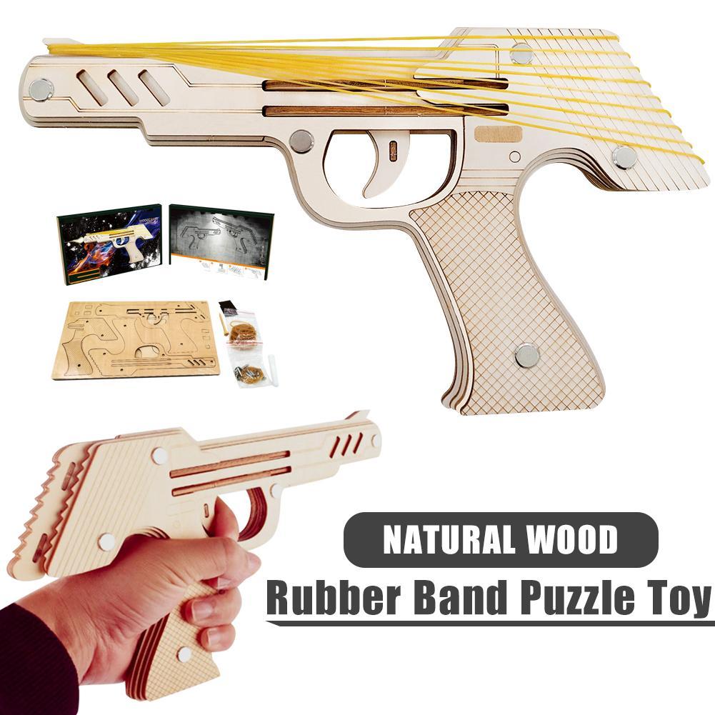 пистолет для сстрельбы канцелярскими резинками