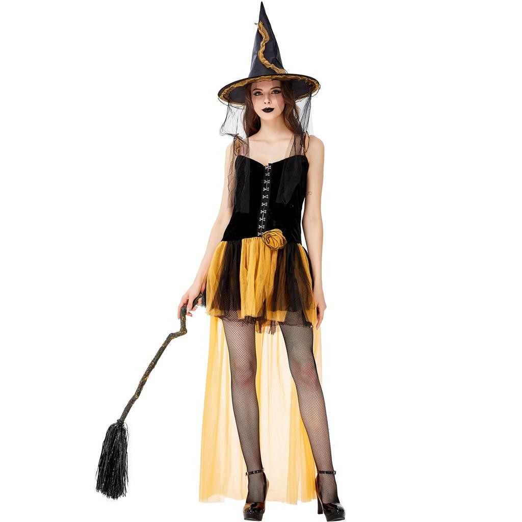 костюм ведьмы Halloween, праздник