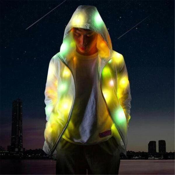 светодиодная куртка