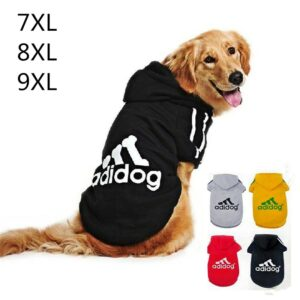 толстовка для собаки с капюшоном