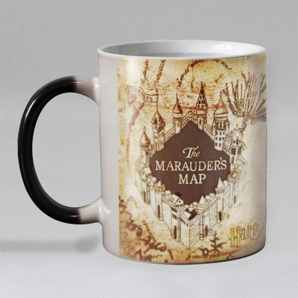 Кружка с картой Мародера Гарри Поттер