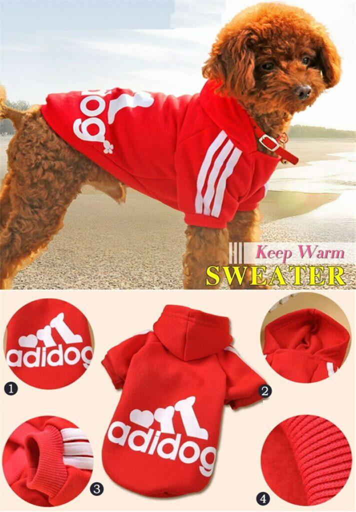 Толстовка для собаки Adidog