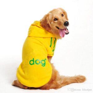 толстовка с капюшоном для большой собаки