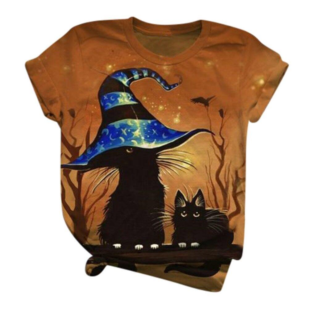 женские футболки с кошками
