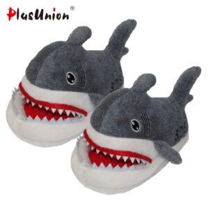 тапочки акулы