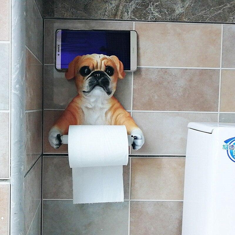 Держатель для туалетной бумаги и телефона