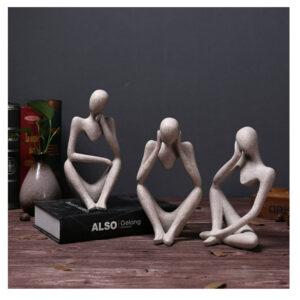 люди размышление скульптура офис