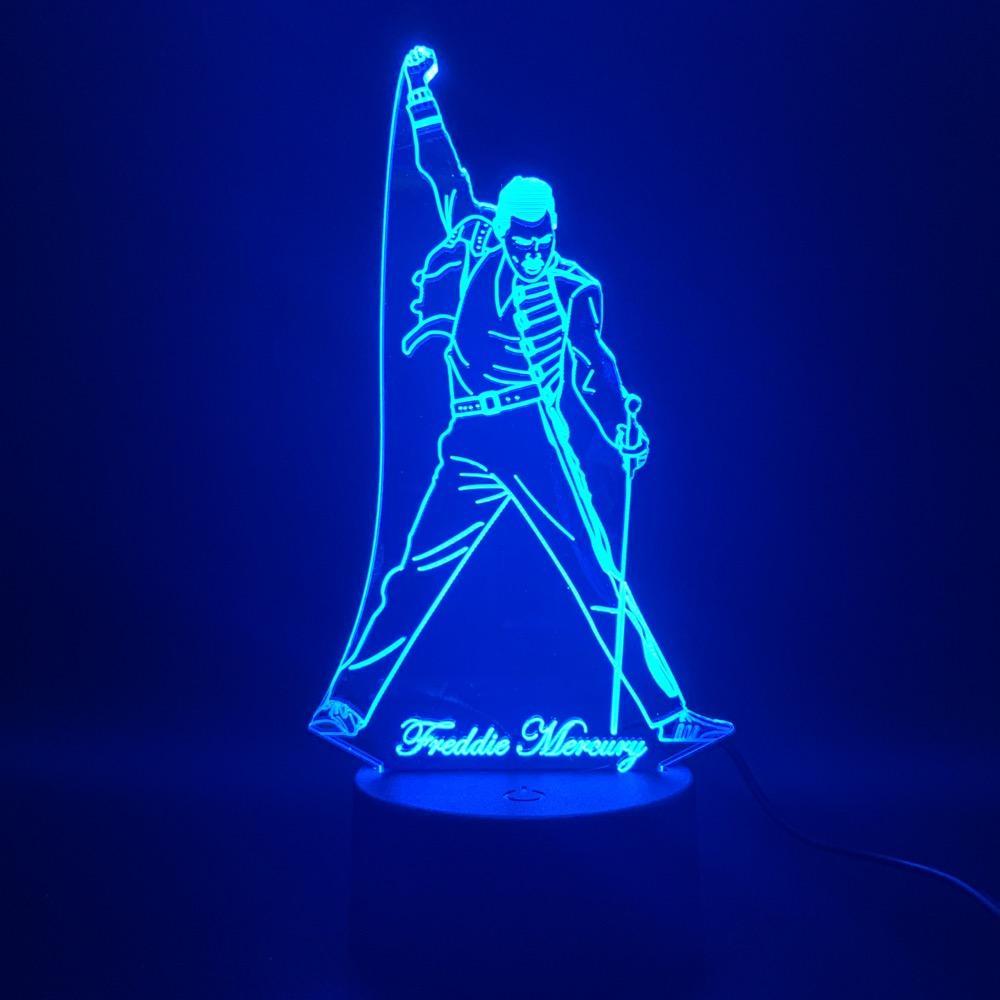 фредди меркьюри светодиодный светильник