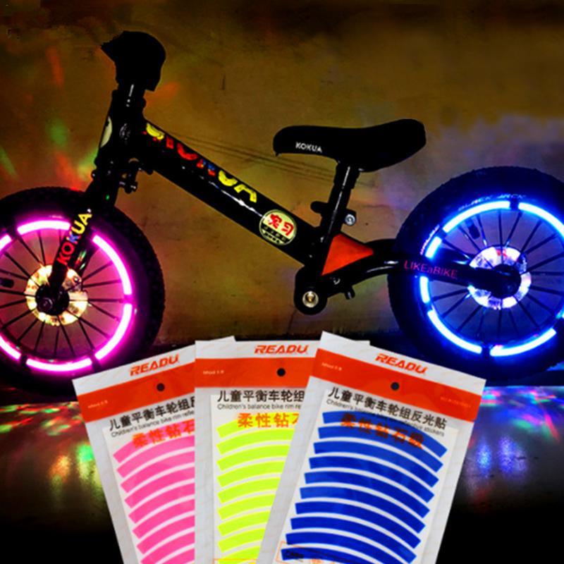 Светоотражающие наклейки для велосипеда
