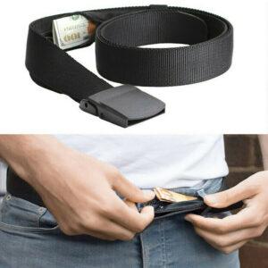 ремень с секретным карманом