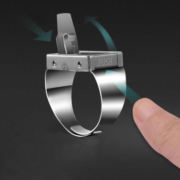 кольцо нож