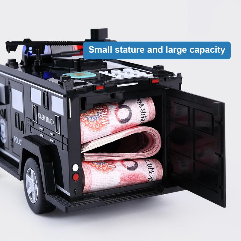 копилка для денег для монет и банкнот с кодом
