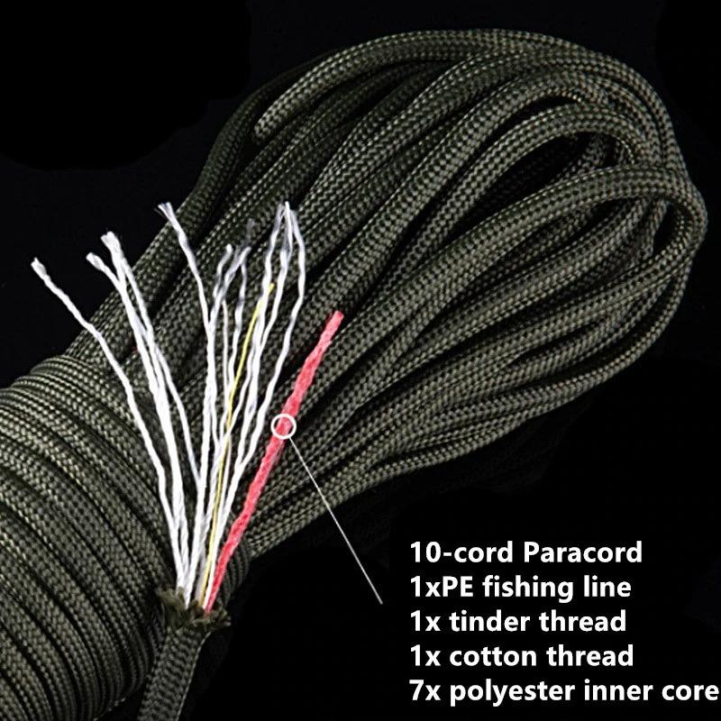 паракордовый шнур для выживания