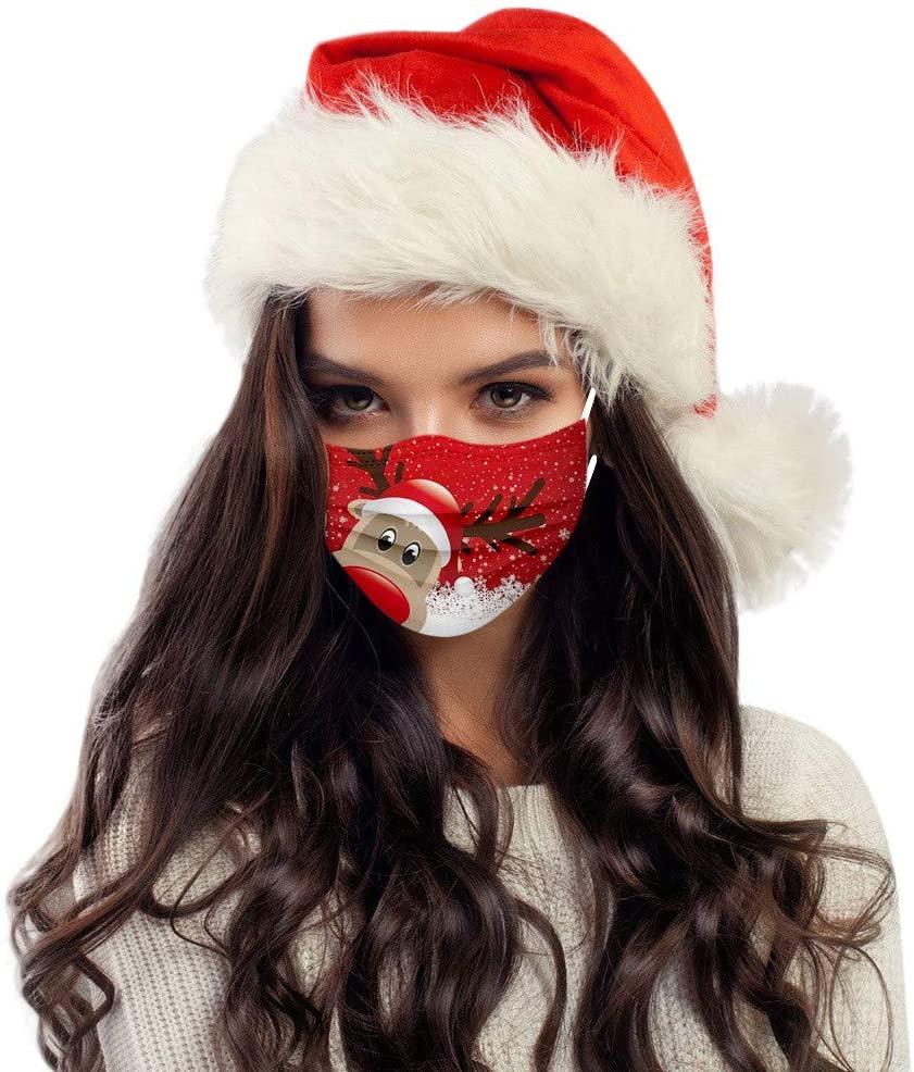 защитная маска с санта клаусом