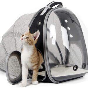 раздвижной рюкзак для кошки переноска