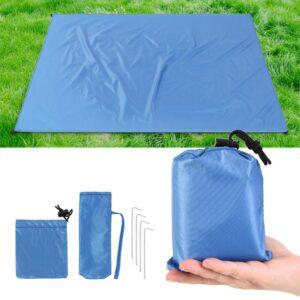 Компактное легкое одеяло для кемпинга, пляжа, пикника