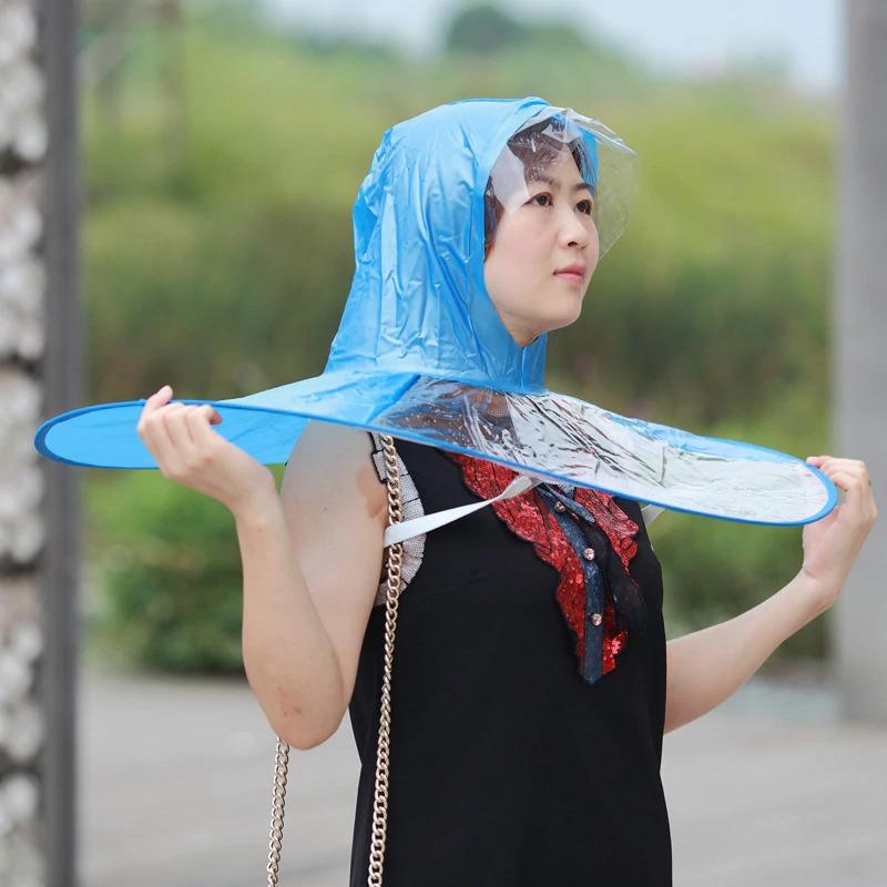 дождевик зон на голову