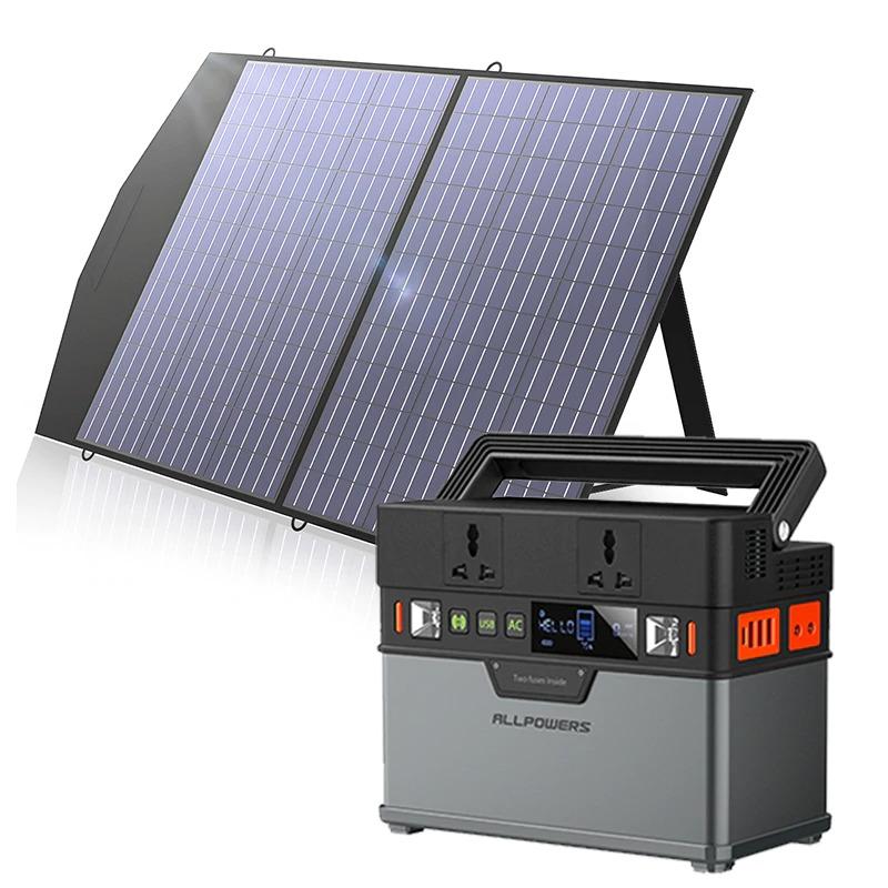 солнечная электростанция для кемпинга